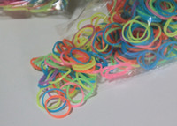 8-11 Years glow in the dark silicone bands - Glow in the Dark Rainbow Loom Silicone Bands for Rainbow Loom Wristbands DIY Mix Color bands clips