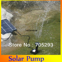 Wholesale 5Set Solar Water Pump Garden Plants Watering Kit Solar Power Fountain Test before shipment ASP0001