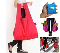 Wholesale 2014 Hot Fashion Foldable Waterproof Storage Eco Reusable Shopping Tote Bags Quality shopping bag pouch environment safe green bag dm001