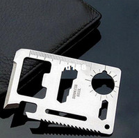 Wholesale Pocket saber Credit Card Knife Outdoor Survival Hunting Camping Multifunction Tool