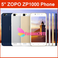No Brand 5.0 Android Original 100% 5.0'' ZOPO ZP1000 Octa Core Android 4.2 Phone MTK6592 Dual Camera 5.0MP+13.0MP 1G+16G 3G GPS Dual SIM Phones Free Case 002236