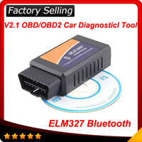 Wholesale Elm327 Bluetooth CAN bus OBD II Elm OBD2 Scanner code reader OBD2 EOBD CAN BUS obd03