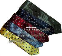 Wholesale Big Discount Hot Sale Chinese Style Silk Satin Men s Woven Panda Tie Necktie Free Size MNT004