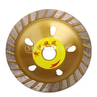 Wholesale Segmented Swirl Diamond Grinding Cup Wheel Golden