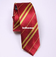 Wholesale Nice New Harry Potter Gryffindor Tie Costume Accessory LZL