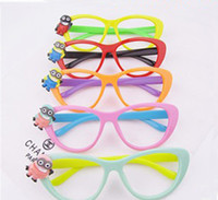 Wholesale 201404Q After the Spring new children s glasses frames newest Super Daddy children glasses Color sent at random