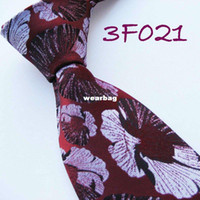 Neck Tie Ties Shanghai China (Mainland) YIBEI Mens ties Retro Burgundy With Silver leaf pattern Woven Necktie Silk Tie fashion Ties for men dress shirts Wedding