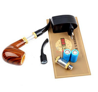 Single Electronic Cigarette Set Series 2013 New designed big vapor pipe 618 E-pipe 618 OH epipe 618 electronic cigarette with high quality package a full sets accessories Factory