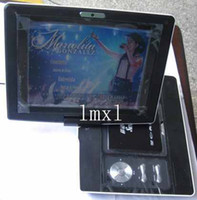 Wholesale rotating quot TFT LCD Digital Multimedia TV PAL NTSC SECAM Portable DVD Player USB Game SD MS MMC Cardreader