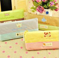 Wholesale Hot New cosmetic bag Cute Dot Style storage bag Convenient pencil case Multi function receive bag