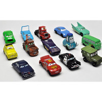 Wholesale Details about CARS Figures Lightning McQueen Sally Mater Guido Mack Toy Figure JX