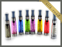 Non-Replaceable 1.6ml Plastic ego CE4 CE5 CE6 Clearomizer Atomizer Vaporizer Cartomizer for electronic cigarette E cig with DHL free shipping