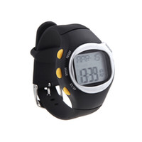 H10512 calorie - Square Men Women Watches Dial Calorie Counter Pulse Heart Rate Monitor Sport Exercise Watch Black Wristwatches H10512