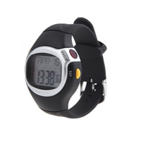 Wholesale New Square Men Women Watches Dial Calorie Counter Pulse Heart Rate Monitor Sport Exercise Watch Black Wristwatches H10512