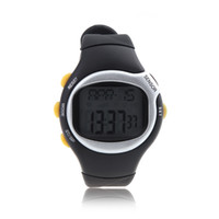 Wholesale 2014 Square Dial Calorie Counter Pulse Heart Rate Monitor Sport Exercise Watch H10512