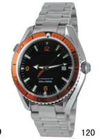 al por mayor reloj de bonos planeta océano james-El lujo automático reloj mecánico suizo Marca de James Bond 007 Mar Planet Ocean 600m coaxial profesionales hombre de la moda Deportes relojes para hombres