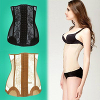 Wholesale socool2010 Waist Tummy Belly Body Shapewear Slimming Belt Corset Cincher Trimmer Girdle T45