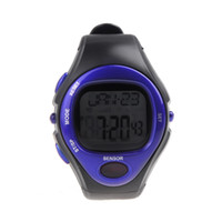 Wholesale 20 Pulse Watches Heart Rate Monitor Calorie Counter Fitness Sport Exercise Wrist Watch H10513