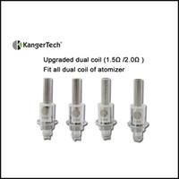 Cheap Kanger upgraded dual coil Kanger upgraded dual coil Best 0.8/1.0/1.2/1.5/1.8ohm 5g Kanger dual coil