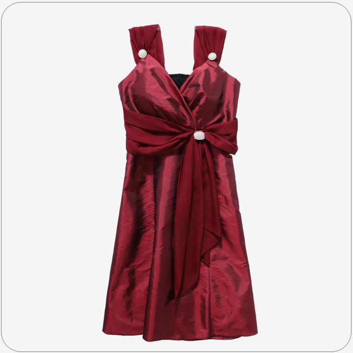 Dress Wholesale Plus Size Women Clothing Dinner Gown Sexy V-neck