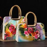 Messenger Bags Women PU New fashion high grade Women's handbag flower bag messenger bag female 2013 handbags designers brand totes bags
