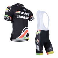 jacket team - santini team cycling jersey cinelli bike jacket and bib pants men sport clothing