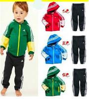 Wholesale 5 sets Children Hoodies coats set Hooded Sweater overcoat sweatshirt jackets Kids clothes Girls boys clothing sets