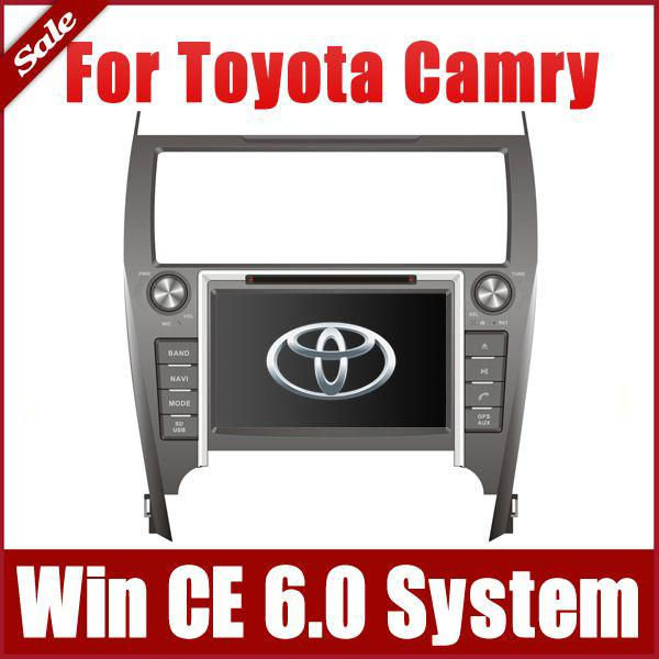 Buy 8 inch Car DVD Player Toyota Camry European American 2012 2013 GPS Navigation Radio BT USB SD AUX Audio Video Stereo SatNav