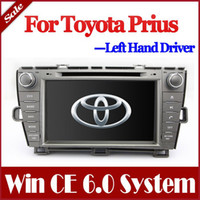Wholesale 8 quot Head Unit Car DVD Player for Toyota Prius with GPS Navigation Radio Bluetooth TV USB SD AUX Auto Audio Stereo Navigator
