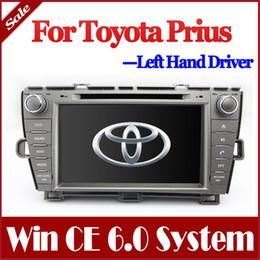 """El jugador del sd para la televisión en venta-8 """"Jefe Unidad de coches reproductor de DVD para Toyota Prius 2009-2013 con GPS Bluetooth de radio TV USB SD AUX Auto Audio Stereo Navigator"""