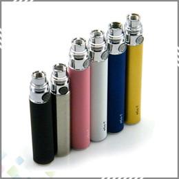 Wholesale Big Promotion EGO T Battery mAh mAh mAh EGo T Battery Thread Clearomizer Atomizer Free DHL