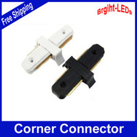 Wholesale 2 LED Track Lighting Fixture Use for Track connection LED Track Middle Connector best price