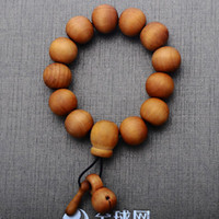 Unisex rosary for man - Factory direct wooden fish beads bracelet bracelets for men and women couple models mahogany rosary beads bracelet