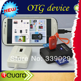 Wholesale For Galaxy S3 S4 NOTE I NoteII and Tablet pc USB supported all in large capacity Card ReaderShipping