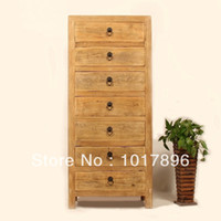 wood Dining Room Furniture Sideboard Manufacturers export seven drawers cabinet wood color CD Cabinet Chinese wood furniture cabinets bedroom cabinets