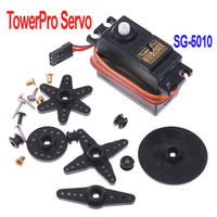 Airplanes Antennas Plastic Freeshipping SG 5010 TowerPro Torque Coreless Servo for RC Plane Helicopter Car ,Dropshipping wholesale