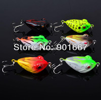 Wholesale New fishing hard bait cm g fishing lures colors available hook Top water depth fishing tackle