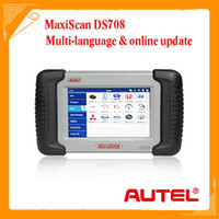 Wholesale new Autel MaxiDas DS708 Scanner automotive fault diagnostic tester comprehensive tools free update your best choice