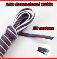 Wholesale 4 PIN RGB Extension Wire Cable Cord for RGB LED Strip Metres Metres Meters