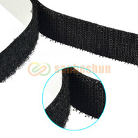 Wholesale High Quality M ft Rolls Self Adhesive Velcro Roll Hook Loop Adhesive Tape Fastener Free Drop Shipping