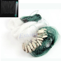 Wholesale m Long Clear White Green Monofilament Fishing Fish Gill Net with Float