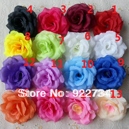 Wholesale High Quality cm Artificial Silk Rose Flower Head for Wedding Home Decoration Wholesaler FH91702