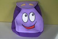 Backpack Mr Face Plush Backpack Shool Bag Purple Toddler Siz...