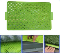 Wholesale EMS Potty Patch Pee Pads for Dogs Dog Training Pad Park Mat Patch Toliet