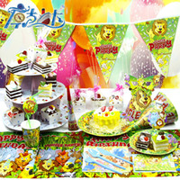 Wholesale 2014 festive supplies children birthday cake theme series paper tray low carbon environmental protection equipment