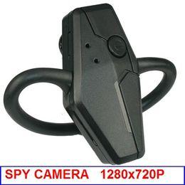 S10 auriculares Full HD 1280 * 720P del auricular de Bluetooth oculta espía cámara de vídeo grabadora de audio Cam Mini DV DVR videocámara desde bluetooth auriculares cámara espía proveedores