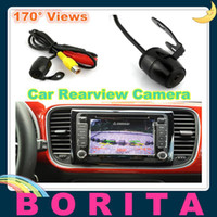 Car Camera   Universal Mini Vehicle Auto Car rearview Camera Rear View mirror Reverse Backup 170°camera Waterproof IP66