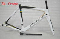 Wholesale Pinarello k Toray T700 Carbon Bike Frames Dogma Think Full Carbon Fiber Road Bike Frameset Cycling Sports Equipment Glossy Bike Frame