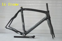 Wholesale Pinarello Carbon Frames Dogma Think Road Bike Frames k Carbon Wave Bicycle Frames full carbon bike frame Black Clear Matt Decals