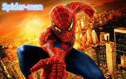 Wholesale Spider Man Mascots - wholesale Cartoon mascot costumes Clothing Adult Child Spider-man Cartoon Costume tights